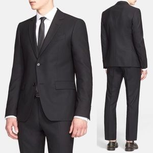 Black Wool Sportcoat by John Varvatos Collection